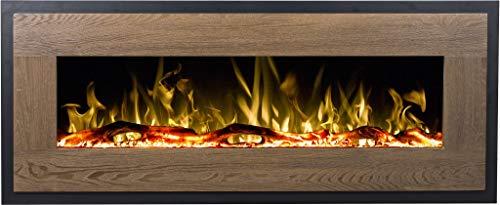 Chimenea eléctrica de madera Mohave (750 W o 1500 W), simulación de...