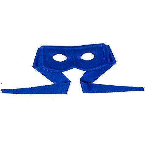 Turtle / Ninja-stil Gesicht Maske Wählen Sie Ihre Farbe / Charakter - Blau (Turtle Ninja Orange)