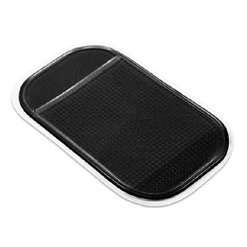 Haihuic Anti-Rutsch-Matte Auto Armaturenbrett Klebrige Kleber Matte für Handy, CD, Elektronische Geräte, iPod, MP4, GPS [Schwarz] -
