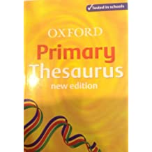 OXFORD PRIMARY THESAURUS New Edition