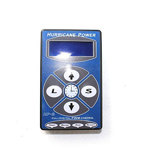 LCD Digital Stromversorgung Hurricane HP-2 Netzgerät Tattoo Power Supply Digitale Tattoo Power Supply