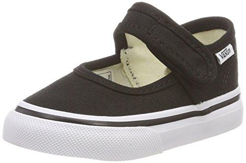 Vans Unisex Baby Mary Jane Sneaker, Schwarz (Black/True White 6bt), 24 EU