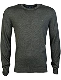 ARMANI JEANS - Homme col rond pull 8n6m91 6m12z