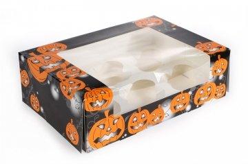 x - Holds 6 Cupcakes (Halloween-cupcake-boxen)