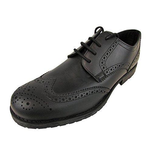 Mens Red Tape Leather Brogue Shoes Designer Brogues Shoe Designer Size UK 9