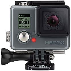 GoPro Hero+ 8MP Full HD WiFi 123g Cámara para Deporte de Acción - Cámara Deportiva (Full HD, 1920 x 1080 Pixeles, 60 pps, 1280 x 720,1920 x 1080 Pixeles, H.264,MP4, 720p,1080p)