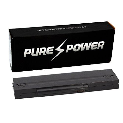 PURE⚡POWER® EXTENDED Batería del ordenador portátil para Fujitsu-Siemens Amilo LA1703 (10.8/11.1V, 6600 mAh, negro, 9 celdas)