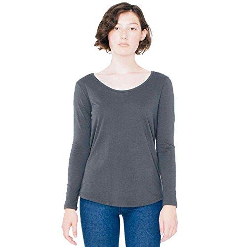 american-apparel-damen-modern-t-shirt-gr-xs-anthrazit