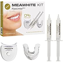 MEAWHITE® Blanqueador Dental Profesional • Kit de Blanqueamiento de dientes LED en casa • 0% PEROXIDO Teeth Whitening • Sonrisa Perfecta en SOLO 5 DIAS • 100 % Efectivo