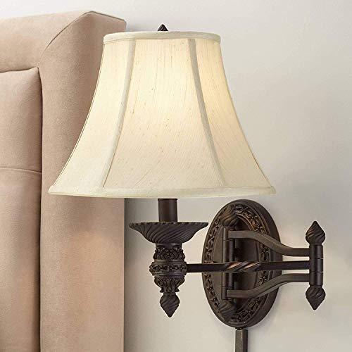 Plug-in Swing Arm Lampe (CHTG Bronze Ovale Plug-In Swing Arm Wandleuchte)
