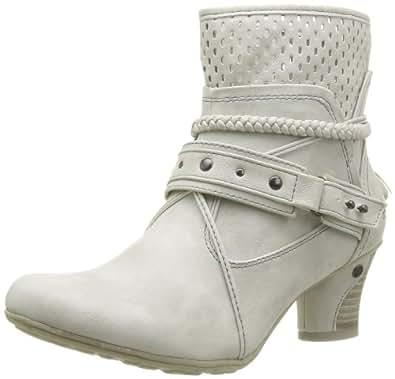 Mustang 1156501, Boots femme - Ivoire (203 Ice), 36 EU