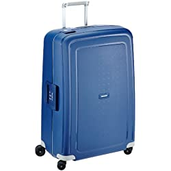 Samsonite S'Cure Spinner 75/28 Koffer, 75cm, 102 L, Dark Blue