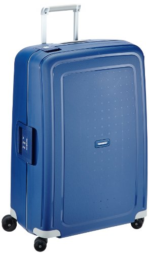 Samsonite S'Cure - Spinner L Koffer, 75 cm, 102 L, blau (dark blue)