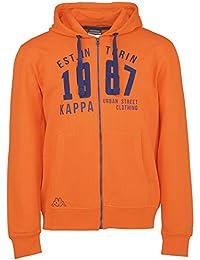 Kappa – Sudadera Zesiro Naranja naranja neón Talla:XL
