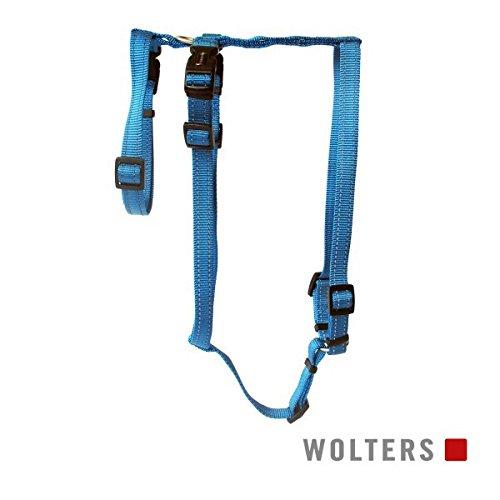 Wolters Geschirr Soft & Safe No Escape Gr.M 40-50cm aqua