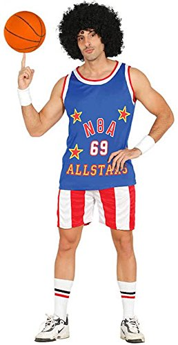 Basketball Kostüm Halloween (Herren-Kostüm NBA Allstars Basketball Spieler Sportler Shirt Hose,)