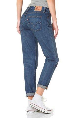 Levi 's Jeans 501Ct Jeans for Women Denim Lavaggio W28L34
