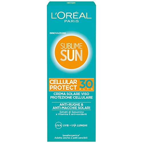 loral-paris-sublime-sun-cellular-protect-crema-solare-viso-ip-30-75-ml