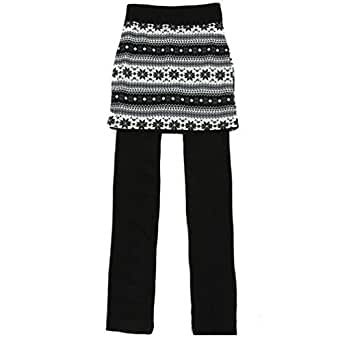 Women Skirt Pant Ankle Length Footless Skegging Legging Tregging Tight One Size (1)