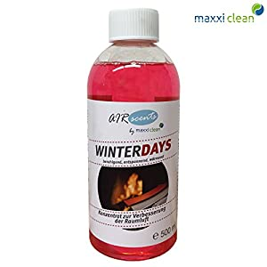Maxxi Clean Air Scents 500ml – Winterdays – pure Dufkomposition – Raumluftverbesserungskonzentrat
