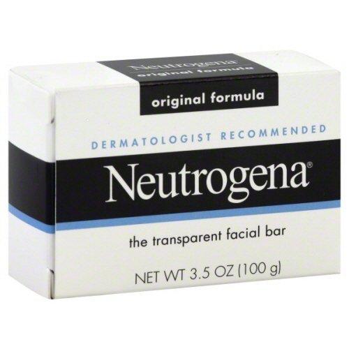 Neutrogena Original Facial Bar 3.5oz (6 Pack) by Nuetrogena