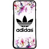 Funda carcasa para móvil logotipo adidas flores logo compatible con Samsung Galaxy Grand Prime