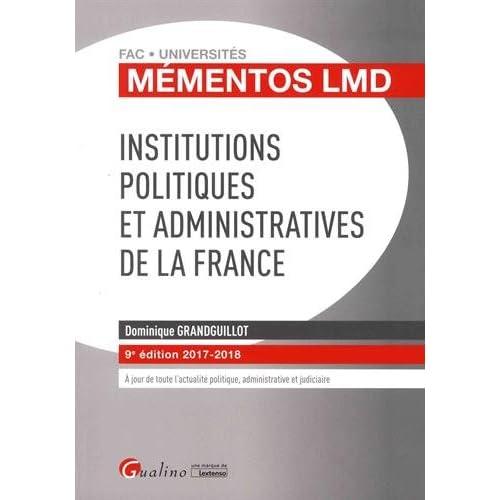 Institutions politiques et administratives de la France