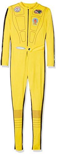 Kill Bill Kostüm gelb mit Overall u. Schwert, Medium Preisvergleich