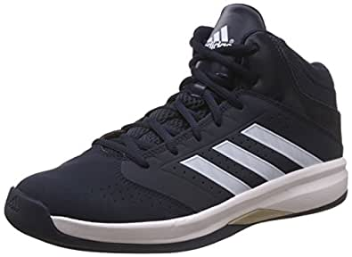 adidas Basketball Shoes, Size 8 (Black)