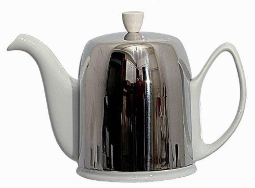 Guy Degrenne - Salam blanc Theiere 6 tasses 1 litre