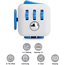 Inditradition Small Fidget Cube, Hand Toy For All Age Group (Helps To Focus & Stress Relief) - Assorted Color
