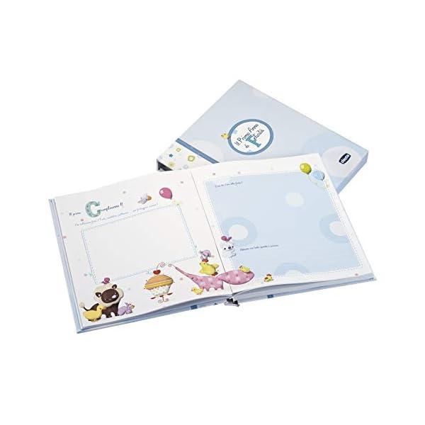 Chicco 00002310200000 Album dei Ricordi, Libro Nascita, Azzurro 2 spesavip