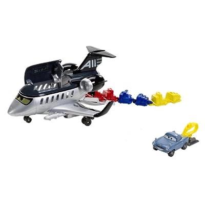 Mattel Disney Cars 2 Action Agents - Avión espía y accesorios de Mattel
