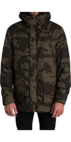 2016 Billabong Stafford Parka Jacket JUNGLE CAMO Z1JK18 Sizes- - Medium