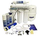 Finerfilters Domestic Home - Sistema de osmosis inversa de 5 etapas con eliminación...