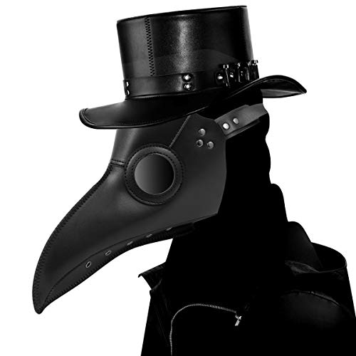 Halloween Kostüm Party Kinder - Schnabelmaske, Welltop Halloween Maske Mittelalter Pest