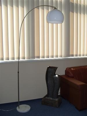 Bogenlampe Lampe Leuchte Stehlampe mit Marmorfuß von D&S Vertriebs GmbH - Lampenhans.de