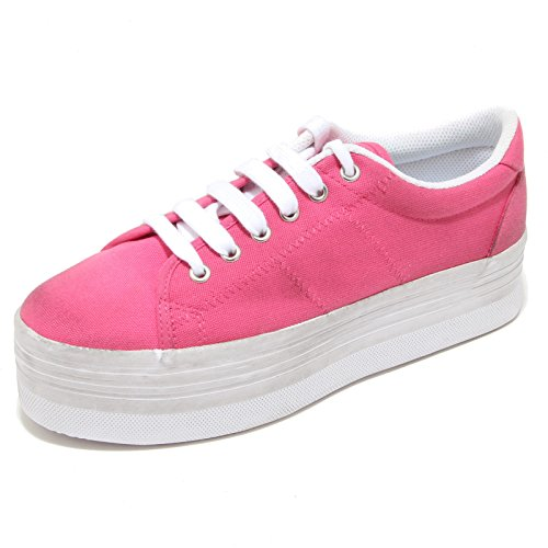3212I sneakers donna JEFFREY CAMPBELL e play zomg zeppa scarpe shoes women Rosa