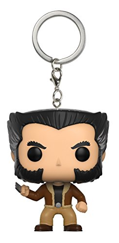Funko - Porte Clé Marvel - Logan Pocket Pop 4cm - 0889698106405