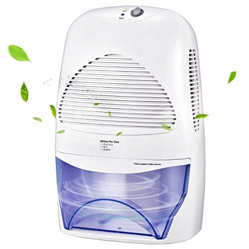 IKICH Luftentfeuchter 2000ml Raumentfeuchter Elektrisch Testsieger Entfeuchter kompakter und Tragbarer in der Küche im Schlafzimmer Büro und Garage zu Hause