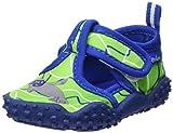 Playshoes Unisex-Kinder Badeschuhe mit UV-Schutz Robbe Aqua Schuhe, Grün (Blau/Grün 791), 32/33 EU