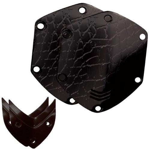 V-MODA Crossfade Over-Ear Headphone Metal Shield Kit - Croc Black (Vmoda Custom)