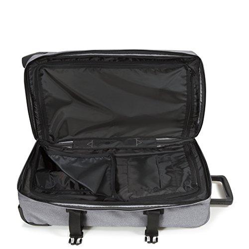 Eastpak Tranverz M Koffer, 67 cm, 80 L, Knit Grey Grey Rubber