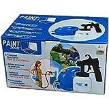 Paint Zoom 750W Electric Portable Paint Sprayer Machine, 370x240x210mm (Blue, WC-009, RATHORE)