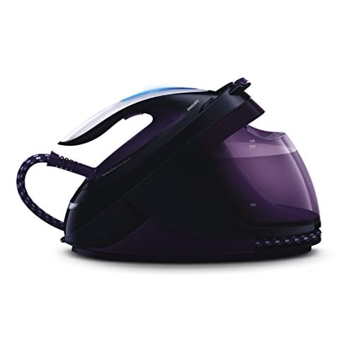41wedV85XNL. SS500  - Philips PerfectCare Elite Silence Steam Generator Iron with OptimalTemp No Fabric Burns Technology, 7.5 Bar, 500 g Steam…