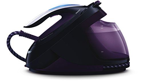 Philips GC9650/80 PerfectCare Elite Silence Steam Generator Iron, 1.8 Litre, 7.5 Bar, Purple