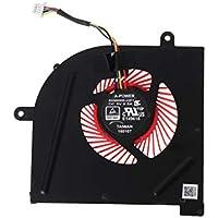 BASSK Ventilador de refrigeración para CPU GPU portátil para MSI GS63VR GS63 GS73 GS73VR MS-17B1 Stealth Pro CPU BS5005HS-U2F1 GPU BS5005HS-U2L1 Cooler