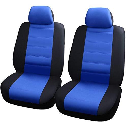 Yestter Auto-Sitzbezüge Set Universal | Auto-Schonbezüge Blau | Auto-Zubehör Innenraum Sitzbezug 5 Stück Sitzkissen 9 Stück