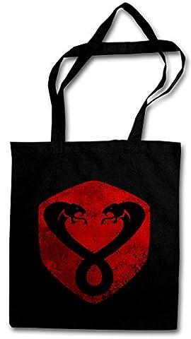 VINTAGE MUMM-RA LOGO Hipster Shopping Cotton Bag - Thundercats TV Series Comic Cartoon Retro Hipster Shopping Cotton Bag