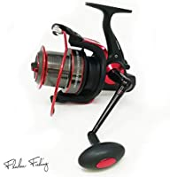 FLADEN MAXXIMUS BIG SHOOTER 7000 High Quality Front Drag (7 Ball Bearings) Fixed Aluminium Tapered Spool Reel with Worm Shaft - For Larger Coarse and Surf Fishing [11-8870]